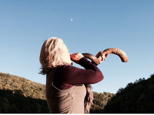 At a sunrise service on Easter Sunday at Pottersville Community Church, Lisa Saunders will blow the shofar, a ram's horn traditionally used in the Jewish celebration of Passover. The shofar call aims to connect the Christian and Jewish communities, while also celebrating the resurrection of Christ, the Rev. Thomas Giglio said.