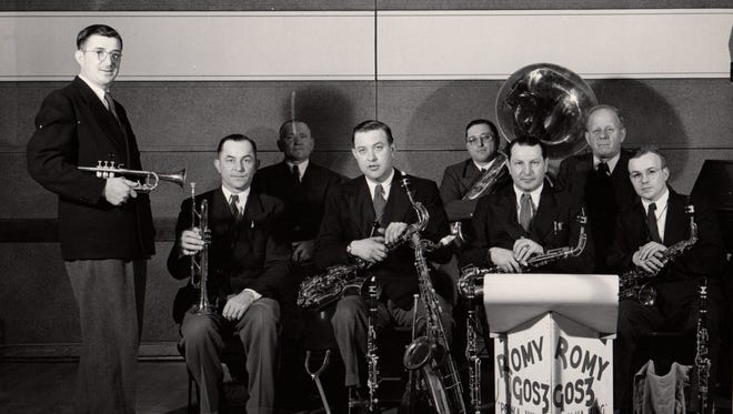 The Romy Gosz Polka Band, from left, Romy Gosz, Jim Jirokovic, Elmer Yindra, Norman Shanechka and Dan Zahorik.