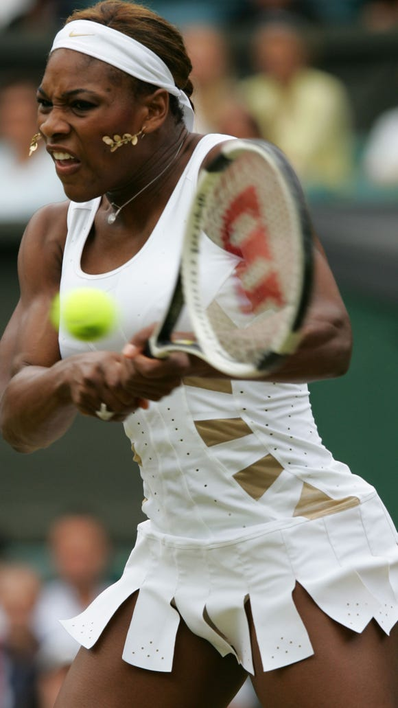 AFP TENNIS-WIMBLEDON-SERENA WILLIAMS 6 SPO TENNIS GBR