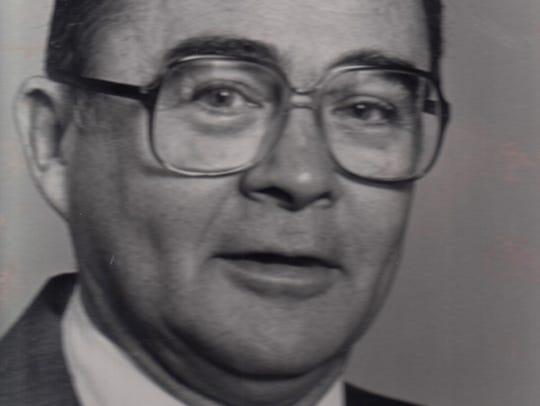U.S. Justice Department staffer James Laue