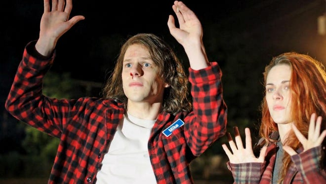 """Jesse Eisenberg and Kristen Stewart star in """"American Ultra."""" The action comedy tanked in its first weekend in theaters, but experts suspect it might become a cult favorite once it hits DVD."""
