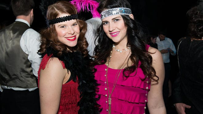 New Years Eve at the Know Theatre's 1920 Speakeasy themed party.