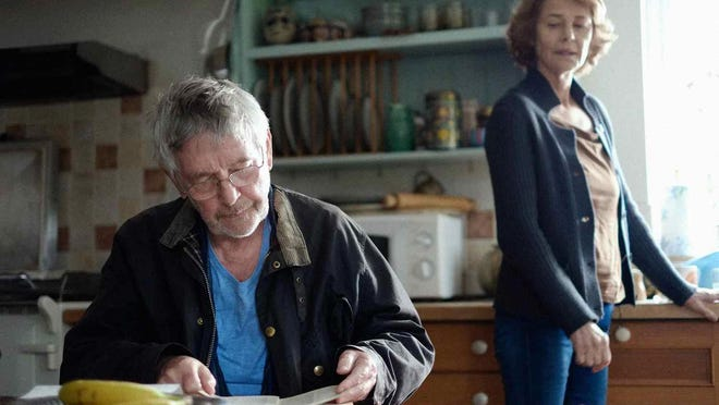 """Tom Courtenay and Charlotte Rampling star as a longtime married couple in """"45 Years."""""""