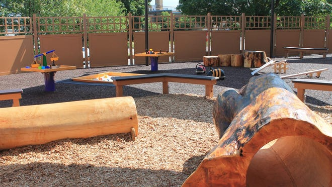 The new Curiosity Playground at the Sciencenter offers fun activities that foster learning, too.