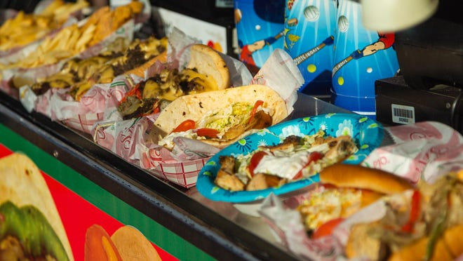 Fair food for sale at the South Florida Fair in West Palm Beach on Monday, January 20, 2020.