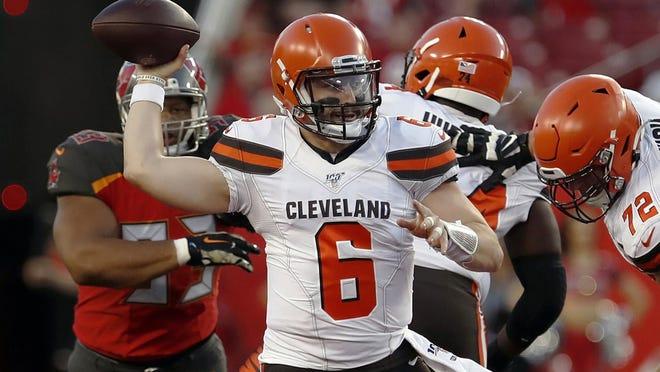 6 - Baker Mayfield, quarterback\r