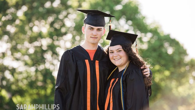 Beverly High School seniors pose for Sarah Phillips Photography as part of the BHS Class of 2020 Cap & Gown Project.