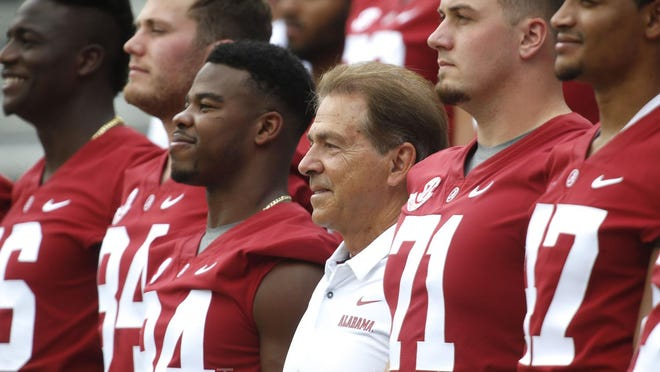 Don't look now, but the Alabama Crimson Tide haven't won a national championship since -- gasp! -- 2017. But head coach Nick Saban figures to have the Tide back in College Football Playoff contention in 2020.