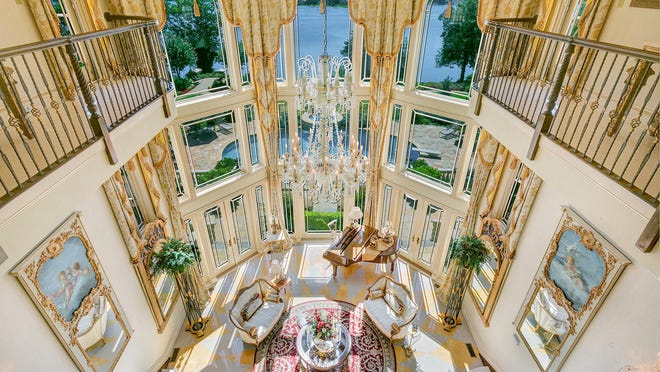 Nettie Einhorn spent several visits and hours capturing each room in this extremely detailed $14.7 million dollar home at 858 Navesink River Road.
