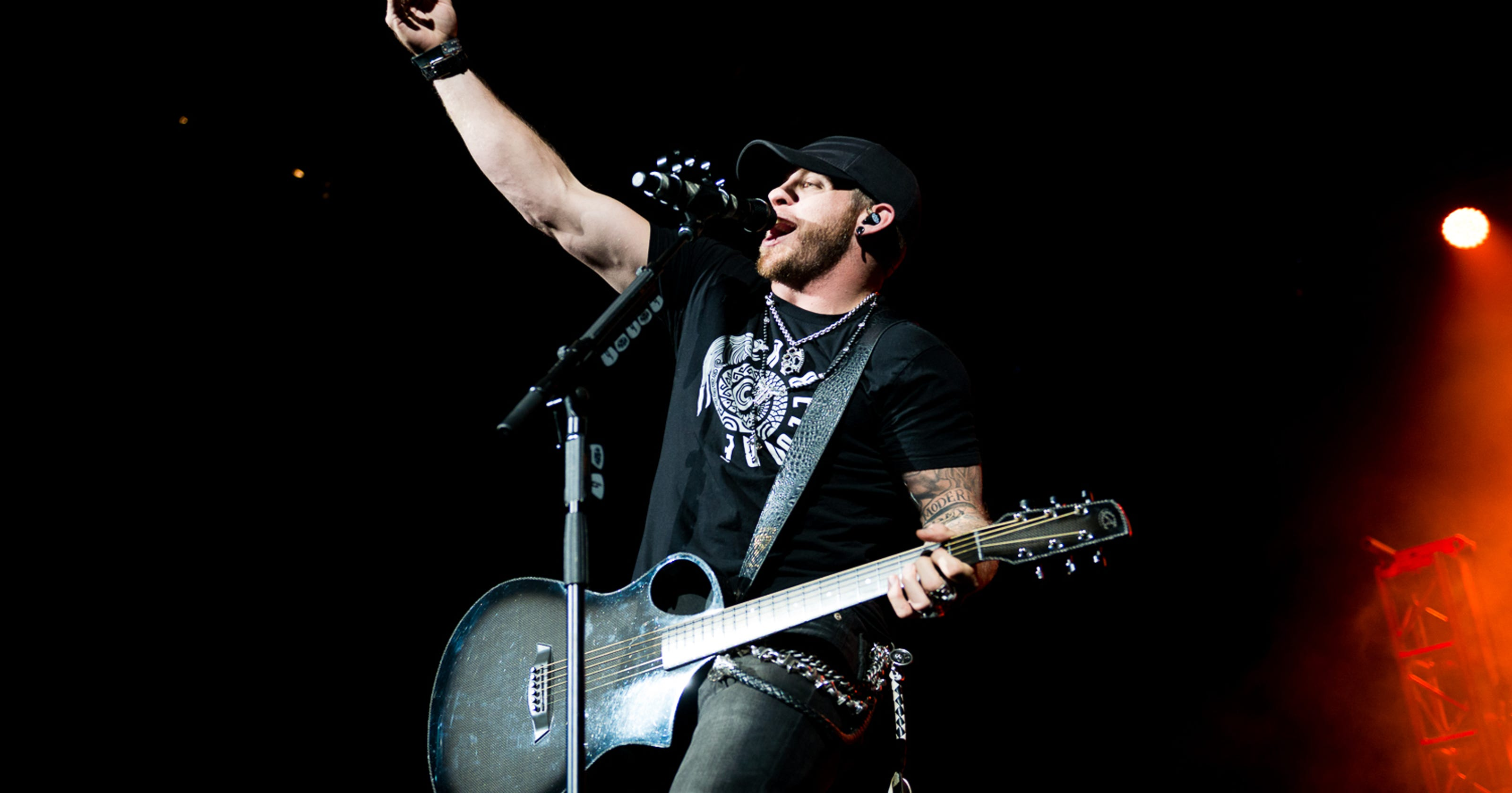 Brantley Gilbert Brings Rock Country Mix To Us Bank Arena