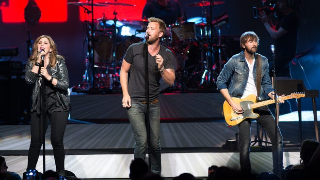 Lady Antebellum performs at Riverbend Music Center on May 30, 2014.
