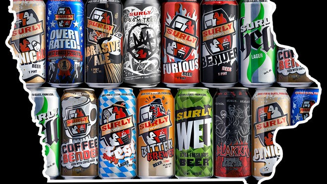 Surly Brewing Co. has returned to Des Moines.