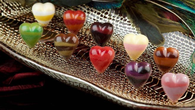 Norman Love Confections has 10 special flavors for Valentine's Day.