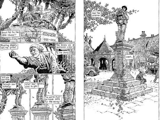 WWI poetry comic 1