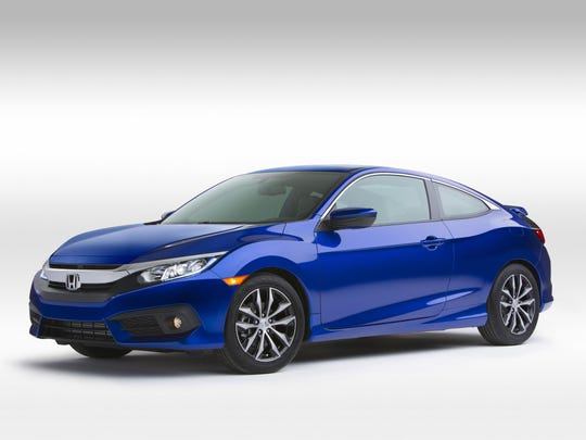 The 2016 Honda Civic Coupe comes with Apple CarPlay and Android Auto, an iPad-like console display and compact class-leading fuel efficiency.