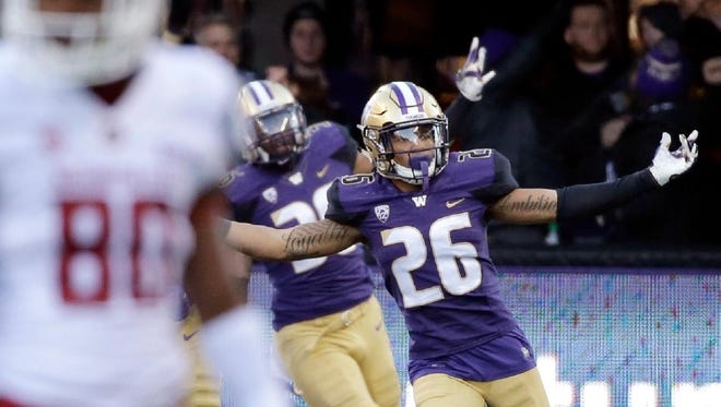 Washington defensive back Sidney Jones is confident the Huskies' chances to upset top seed Alabama in Saturday's College Football Playoff semifinal game at the Georgia Dome in Atlanta.
