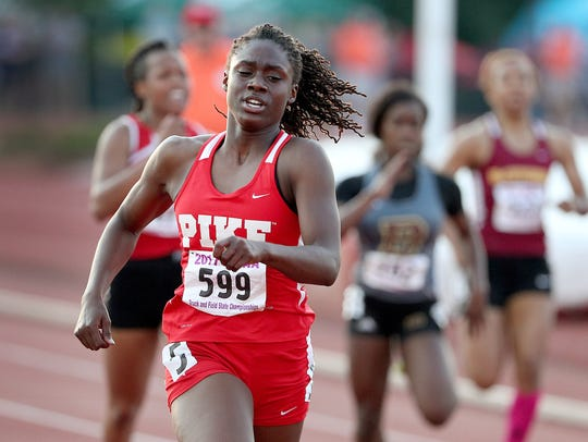 Pike's Lynna Irby finished her storied prep career