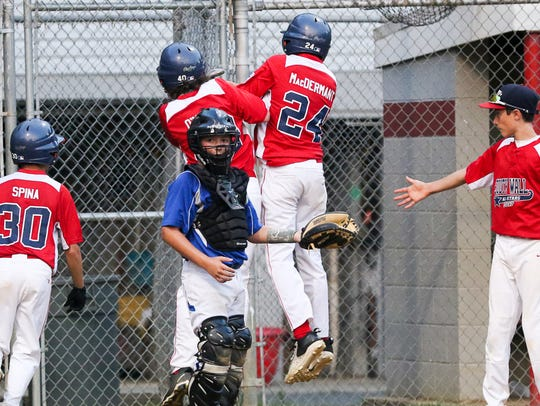 Sayreville vs. South Wall in the 2017 Little League