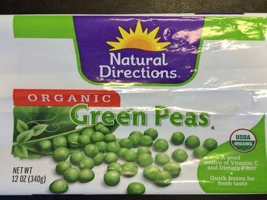 NORPAC is recalling green peas and mixed vegetables sold under the Natural Directions label.