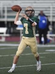 Scenes from Friday's non-conference football game between Nottingham and Vestal: Matt Carr