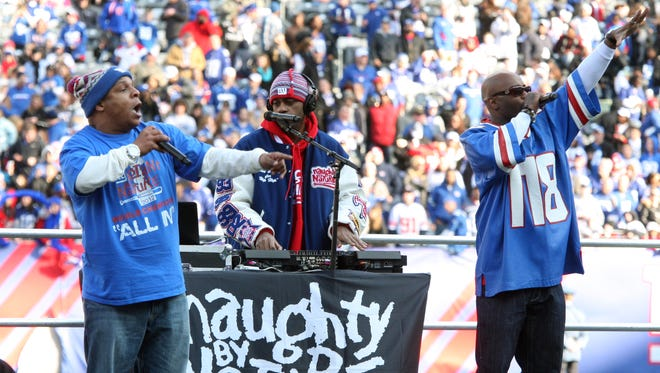 """Vinnie """"Vin Rock"""" Brown of Naughty by Nature, left, pictured in 2012, will host an Independence Day Celebration in East Orange."""