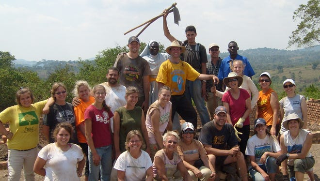 St. Mary's Mission Trip group, 2009