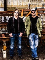 Portland punk blues duo Hillstomp will perform July 15.