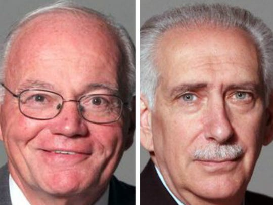 Bruce Bendish, left, and Anthony Scarpino are vying for for Westchester District Attorney.