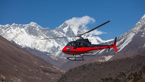 Medical helocopter