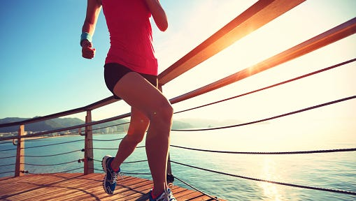 Even a little running each day goes a long way.