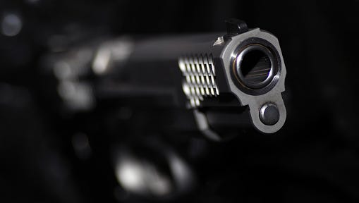 A stock image of a gun.