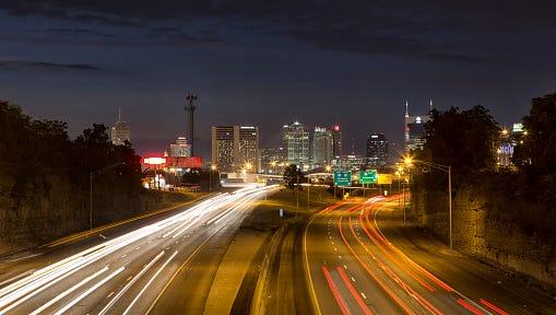 Nashville Tennessee 2014 I-65 South