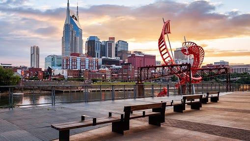 Nashville, Tenn. skyline