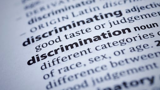 Discrimination: Dictionary Close-up