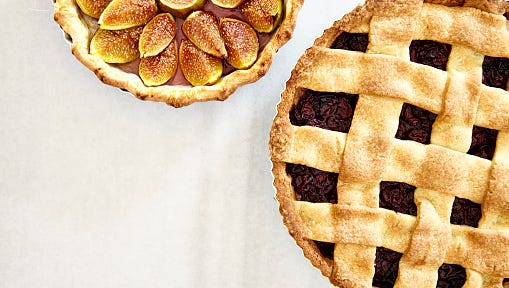 Fig and Plum Pie