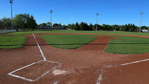 Open softball Field