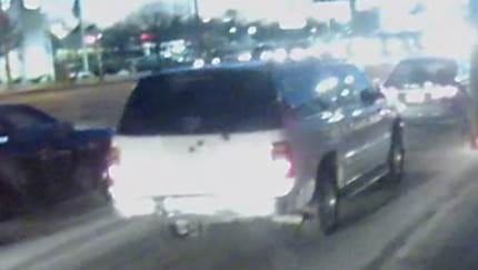 Police released this photo of a vehicle believed to have been involved in a fatal hit-and-run accident near 38th and High School Road on Feb. 9, 2017.