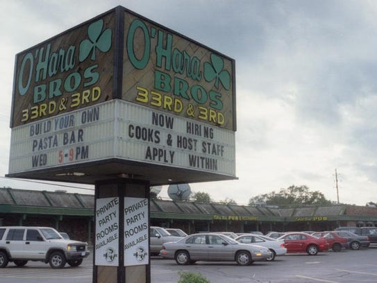 O'Hara Brothers, shown in September 1999. The family