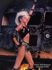 Wendy O. Williams will be inducted into the Rochester Music Hall of Fame on Sunday.