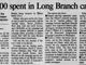 Asbury Park Press Headlines from the 1994 Long Branch