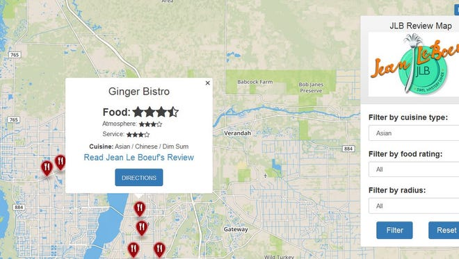 You can search JLB reviews on your phone now using our interactive and searchable map. Go to news-press.com/insider.