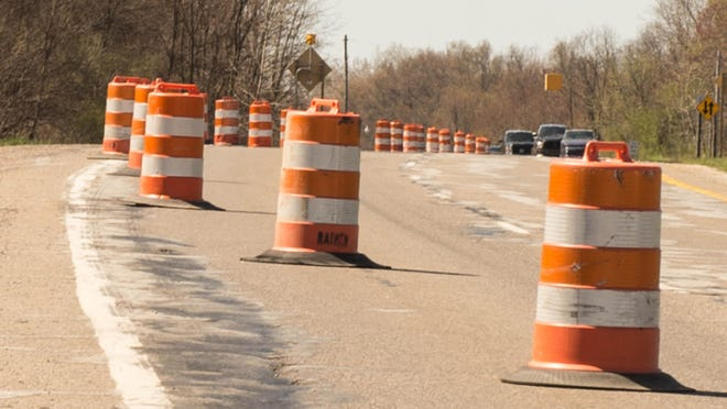 Some road projects may come to a halt during a labor dispute.