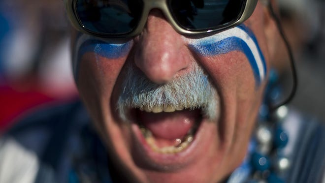 Ron (Crackman) Crachiola was tailgating at Eastern Market before the Lions' game against the Washington Redskins last month at Ford Field.