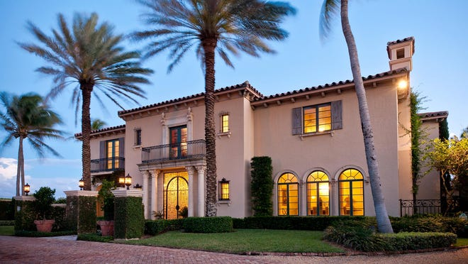 A Mediterranean-style house at 110 Clarendon Ave. in Palm Beach's Estate Section has changed hands for $10.425 million, the price recorded with the deed at the Palm Beach County Courthourse.