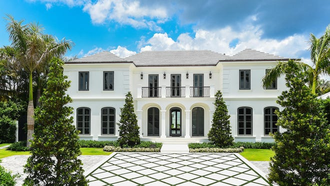 At 251 Dunbar Road in Palm Beach, a never-lived-in house developed on speculation has sold for a recorded $12.365 million after just two months on the market.