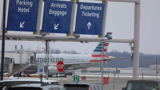 A recent view at the Greater Rochester International Airport. Air travelers from states with high rates of COVID-19 will be required to provide their local contact information or face a penalty of up to $2,000.