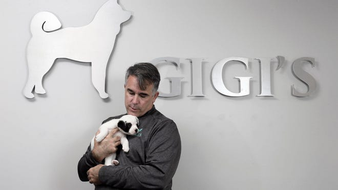 Jim Pheiffer is CEO of Trinity Homes and also board president at GiGi's, a non-profit organization in Canal Winchester that helps shelter dogs. He was recently honored with a $10,000 grant to continue the charitable work.