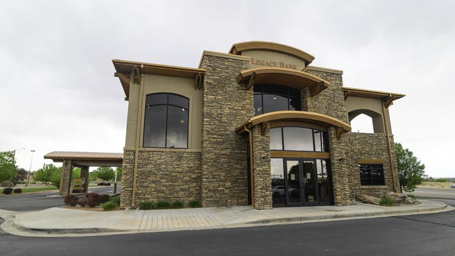 Legacy Bank's University Park branch is located at 730 Desert Flower Blvd.  Legacy Bank processed $10.7 million of Paycheck Protection funding for businesses in Wiley, Lamar, Pueblo, Pueblo West, Canon City, Colorado Springs and Buena Vista..