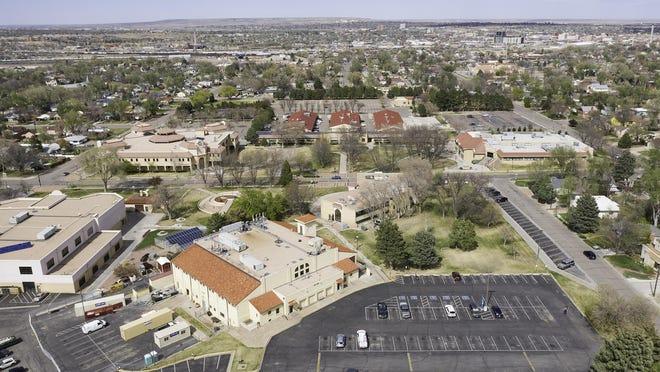 Campus of Pueblo Community College.