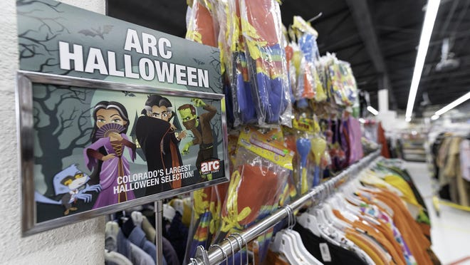 Halloween costumes are available at the ARC Thrift Store at 1115 S. Prairie Ave.